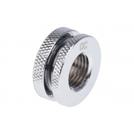 Alphacool G1/4 Bulkhead Connector - Chrome (17068)