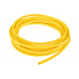 Alphacool AlphaCord Sleeve 4mm - 3,3m (10ft) - Canary Yellow (45312)