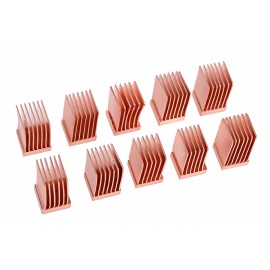 Alphacool GPU RAM Copper Heatsinks 6.5x6.5mm - 10pcs (17425)