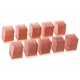 Alphacool GPU RAM Copper Heatsinks 10x10mm - 10pcs (17426)