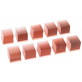 Alphacool GPU RAM Copper Heatsinks 14x14mm - 10pcs (17427)