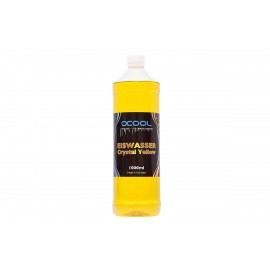 Alphacool Eiswasser - Premixed Coolant - Crystal Yellow - UV Reactive - 1000ml (18542)