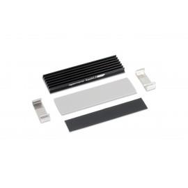 Aquacomputer KryoM.2 Micro Passive Heatsink for M.2 2280 SSD (53247)