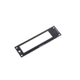 Aquacomputer Replacement Front/Face For Aquaero 5 and 6 XT - Red LED's (53254)