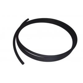 Alphacool AlphaTube TPV 12.7 / 7.6 - Black Matte 3.3m (10ft) - Retail Box (18605)