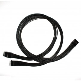 10-Pin USB/AC97/HD-Audio Internal Header Y Splitter Cable (50cm) (CAB038)