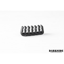 Darkside 12-pin Open-Closed Cable Management Comb – Black (DS-1048)