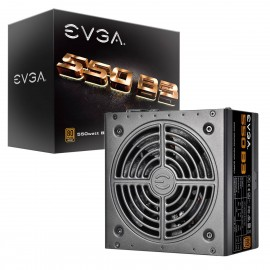EVGA 550 B3, 80+ Plus BRONZE 550W, Fully Modular, EVGA Eco Mode, Compact 150mm Size, Power Supply (220-B3-0550-V1)