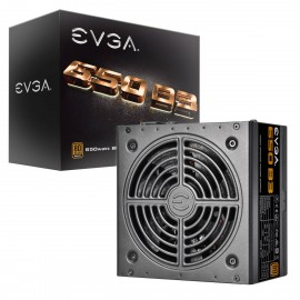 EVGA 650 B3, 80+ Plus BRONZE 650W, Fully Modular, EVGA Eco Mode, Compact 150mm Size, Power Supply (220-B3-0650-V1)