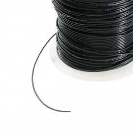 MMM 22 AWG  Ul1007 Hookup Wire - Black (MOD-0269)