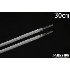 """Darkside 12"""" (30cm) Female-Female Pre-Sleeved ATX and PCI-E Wire – Titanium Gray (DS-0685)"""