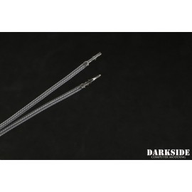 """Darkside 17.5"""" (45cm) Male-Female Pre-Sleeved ATX and PCI-E Wire – Metal Jacket (DS-1148)"""