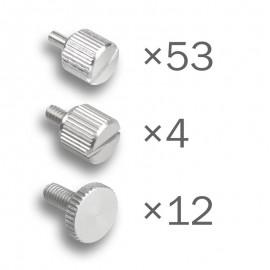 Dimastech® Bench Table EasyXL - ThumbScrews Kit -Silver (BT189)