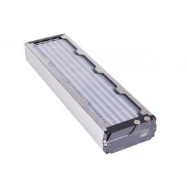 Aquacomputer Airplex Modularity 480 mm Radiator - Dual Circuit | Aluminum (33027)