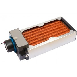Aquacomputer Airplex Modularity 240 mm with D5 pump | Copper (33050)