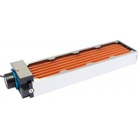 Aquacomputer Airplex Modularity 480 mm Radiator with Aquabus D5 Pump | Copper (33066)