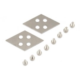 Aquacomputer Set of Interconnection Plates (Quad Configuration) for Airplex Modularity System (33505)