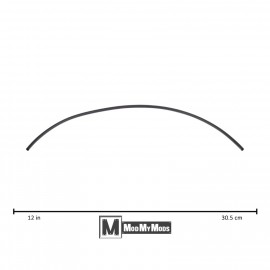 "ModMyMods 1/8"" (3mm) 3:1 Heatshrink Tubing - Black (MOD-0156)"
