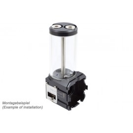 Aquacomputer Aquainlet XT 100 mL with Fill Level and Lighting Option | Nano Coated (34067)
