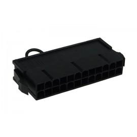 Phobya PSU Manual Start Bridge (24 Pin) | Black (52182)