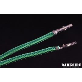 """Darkside 27.5"""" (70cm) Female-Female Pre-Sleeved ATX and PCI-E Wire – Commando UV (DS-0707)"""