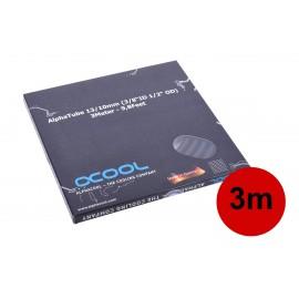 "Alphacool Tubing AlphaTube HF 13/10 (3/8""ID) - UV Black 3m (9,8ft) Retailbox (18417)"
