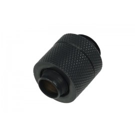 "Alphacool G1/4  3/8""ID x 1/2""OD Compression Fitting - Deep Black (17078)"