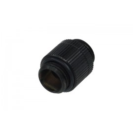 Alphacool G1/4 Male to Male Revolvable Extender Fitting- Black (17033)