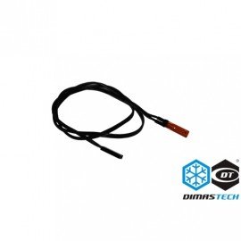 DimasTech® 50cm NTC 2-Pin Temp Sensor- Black (DS016)