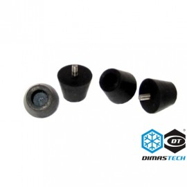DimasTech® Rubber Feet - Black (BT130)