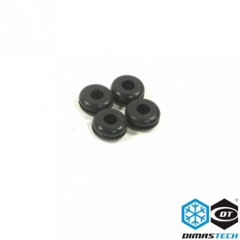DimasTech® Rubbers for Special Hd (6-32) & Ssd (M3) Screws (BT115)
