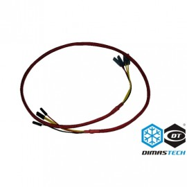 DimasTech®  Switch Cable - Red | 800mm (BT109)
