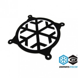 DimasTech® 120mm Snowflake Fan Grill - Graphite Black (GD001)
