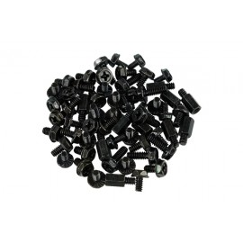 Phobya 60 Piece Mainboard Screw Kit - Black  (75076)