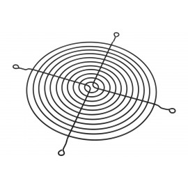Phobya Fan Grill for Axial Fans for 200mm - Black (80122)