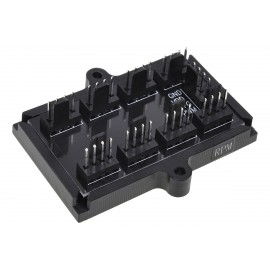 Phobya 4-Pin PWM to 8x 4-Pin PWM Splitter PCB (81136)