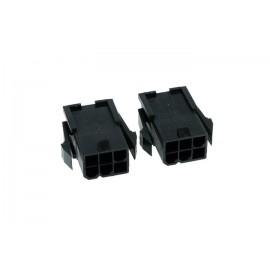 Phobya 6-pin VGA Connector (incl. pins) - 2ct   Female (82356)