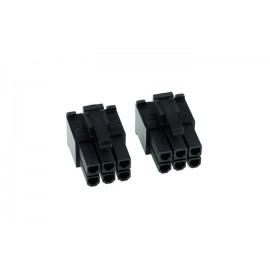 Phobya 6-pin VGA Connector (incl. pins) - 2ct   Male (82357)