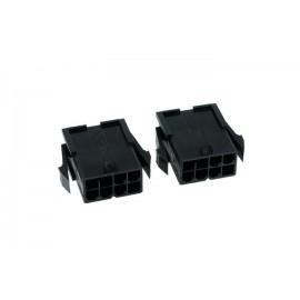 Phobya 8-Pin VGA Connector (incl. pins)  - 2ct   Female (82380)