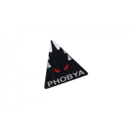 Phobya Sticker Triangular - Aluminum(86134)