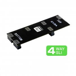 "EVGA Flexible 3.5"" 4-Way SLI Bridge (9070-99-A01001)"