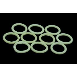 Phobya G1/4 O-ring 11,1 x 2mm – 10pcs. - UV-Reactive White (95059)
