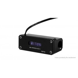 "Barrowch G1/4"" OLED Display Water Temperature Sensor - Black (FBFT02-V4-Black)"