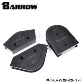 Barrow Mandrel Kit - For 14mm OD HardTube - 3pcs (AWGM3-14)