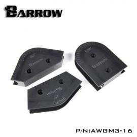 Barrow Mandrel Kit - For 16mm OD HardTube - 3pcs (AWGM3-16)