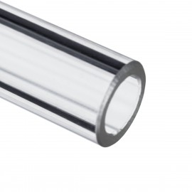 Barrow 12/8mm Acrylic Rigid HardTube (500mm) - Clear (YK12-8)