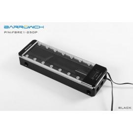 Barrowch 250mm Boxfish Series Acetal Box Reservoir with OLED Display & D-RGB LED (FBRE1-250P-Black)