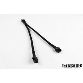 "DarkSide 6"" RGB Y-Cable - Jet Black Sleeved (DS-0539)"