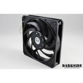 Darkside Gentle Typhoon Performance Radiator Fan - 2150rpm, 68cfm - Black Edition (D1225C12B6AP-60)