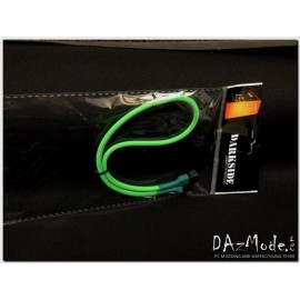 "Darkside 3-Pin 40cm (16"") M/F Fan Sleeved Cable - Green (DS-0031)"